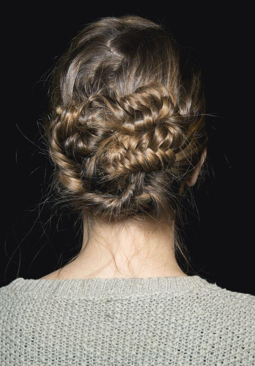 Messy fishtail bun wedding hair wedding hair pinterest messy