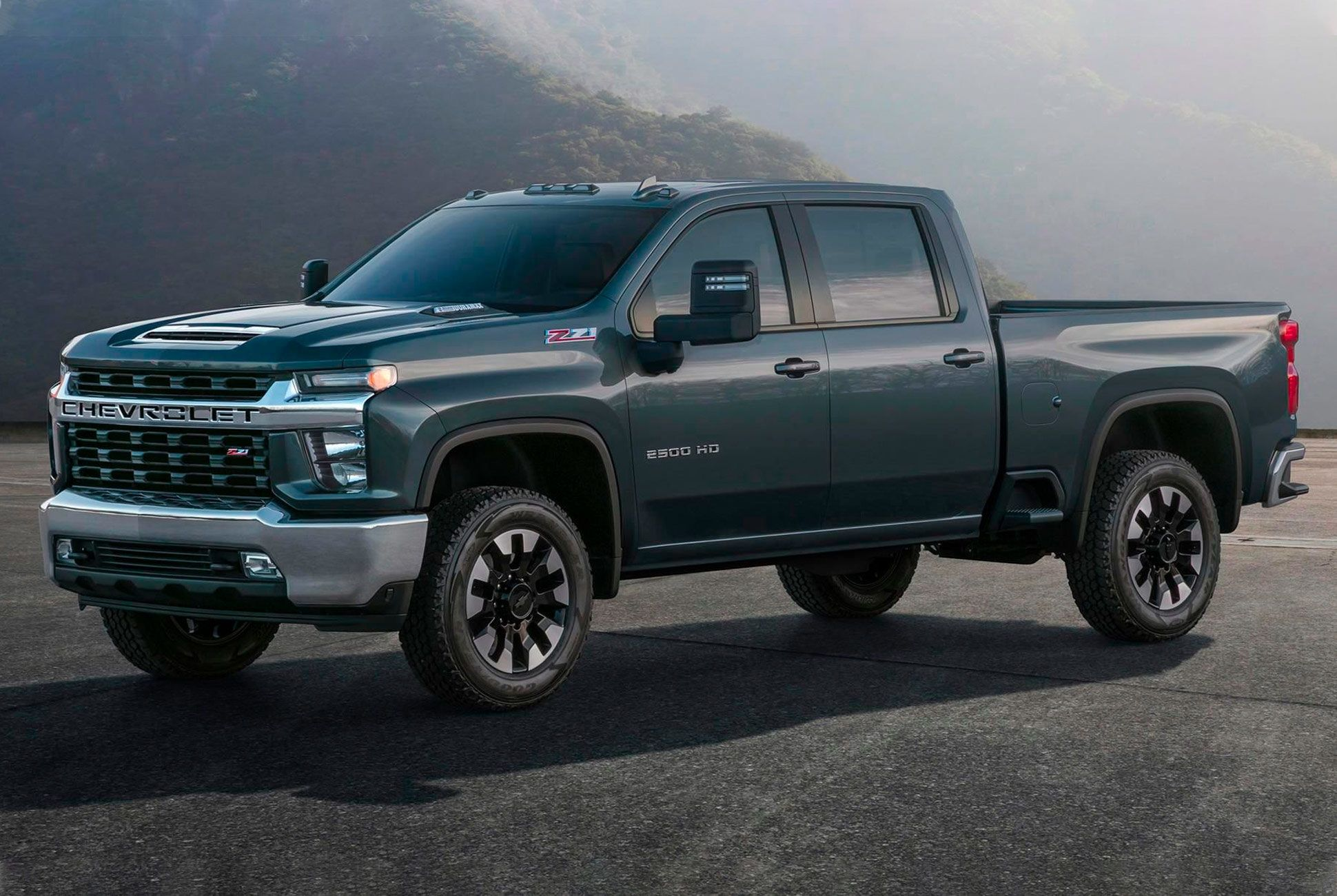 The 2020 Chevy Silverado 2500hd Has A Continent Sized Grille A Chevy Silverado Hd Chevy Silverado Silverado Hd