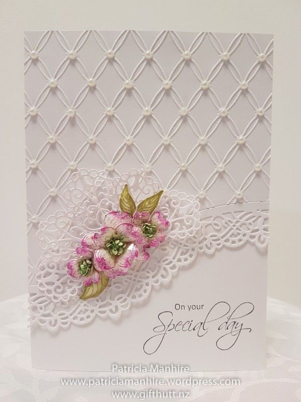Elegant Special Occasion Card By TrishaMat