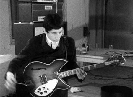 """Ca. early 1965, with 1964 360/12 """"Export"""" 12-string."""