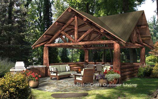 Backyard Pavilion Designs picnic shelter plans winwood park city of gardner kansas Outdoor Rooms Photo Gallery Pocono Pavilion Design Backyard Pavilion