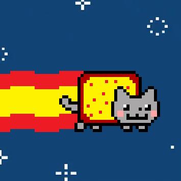 Spanish Nyan Cat | spanish nyan cat lol | Bead pattern things | Nyan