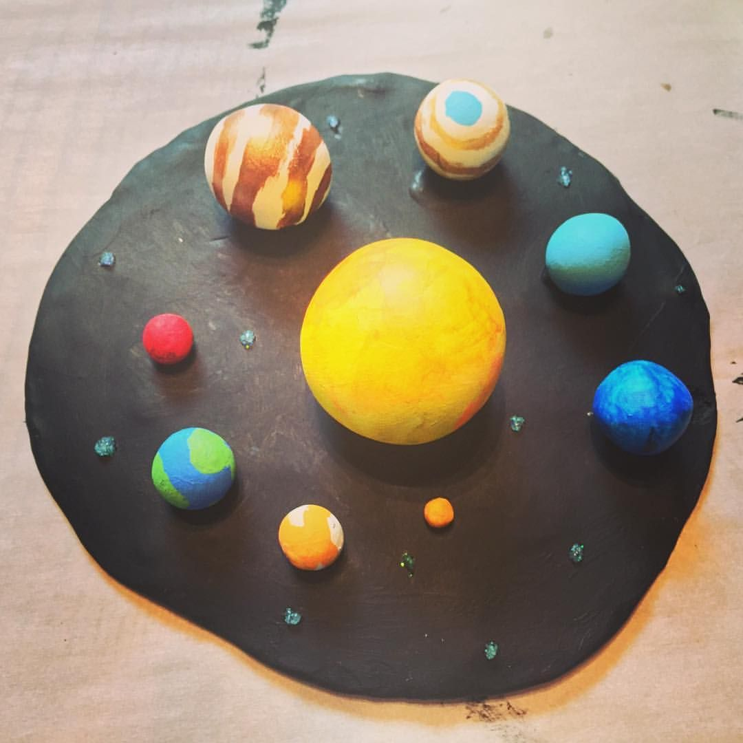 We just finished Logan\'s 3D solar system project. I think we did a ...