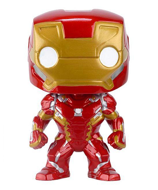 Captain America Civil War Iron Man POP Vinyl Bobblehead Figure
