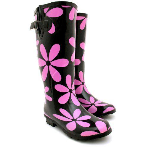 Women's Funky Rain Boots | Shoes | Pinterest | The cottage, D and Rain