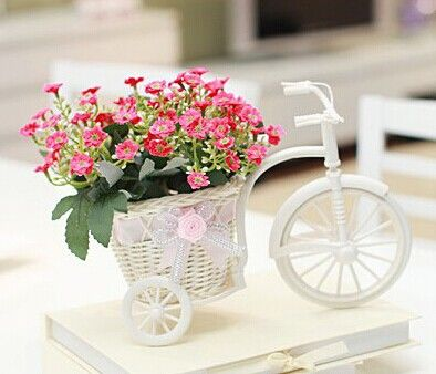 Jarrones con flores artificiales para decorar arreglos - Plantas artificiales para decorar ...