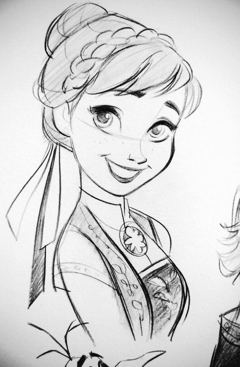Constable+Frozen — Elsa, Anna (Jin Kim)   Disney princess   Pinterest