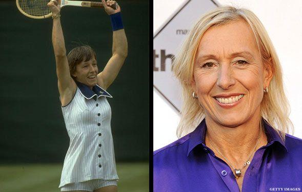 What Tennis Legends Look Like Today Tennis Legends Martina Navratilova Tennis