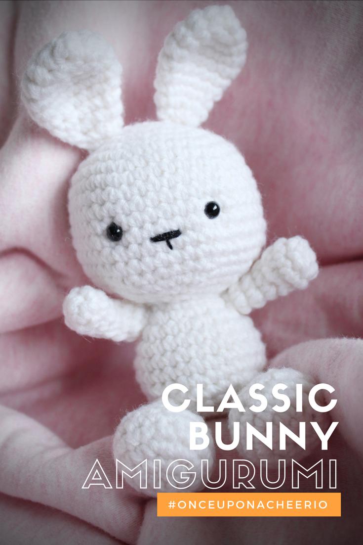 Classic amigurumi bunny crochet pattern art crochet pinterest