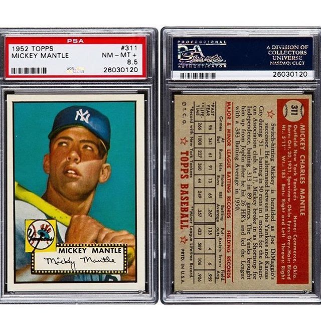 Throwback Thursday The Highly Coveted 1952 Topps Mickey
