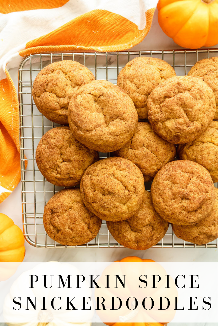 Pumpkin Spice Snickerdoodles Shimmering with pumpkin spice these pumpkin spice snickerdoodles are delicious for pumpkin season Like pillows of pumpkin youll love this pum...