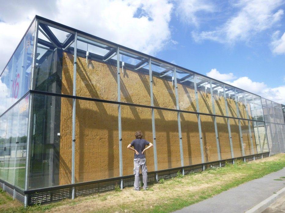 Exemple n°1  Bauge contemporaine à Rennes Architecture - Exemple De Facade De Maison