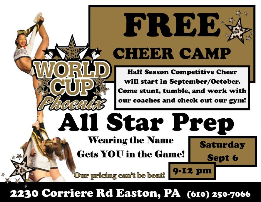 World Cup All Stars Phoenix Wearing The Name Gets You In The Game Competitive Cheer Cheerleading Competition Cheer Pictures
