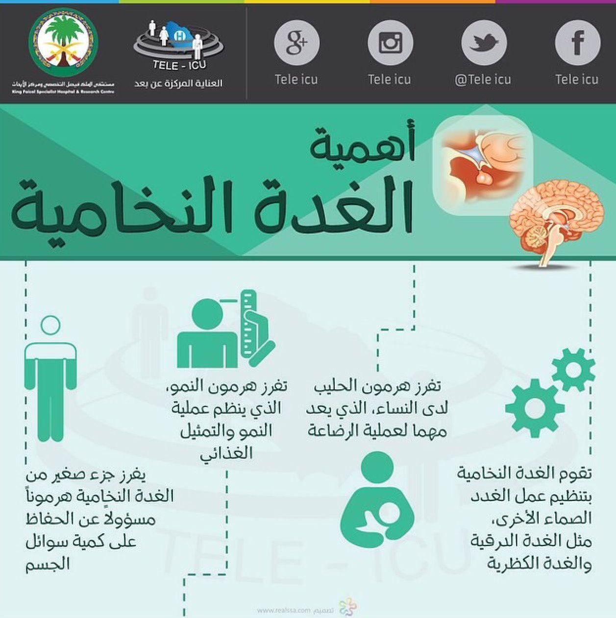 أهمية الغدة النخامية Health Personality Types Icu