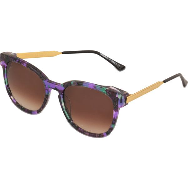 32466aaf86 Thierry Lasry Neuroty sunglasses ( 383) ❤ liked on Polyvore featuring  accessories