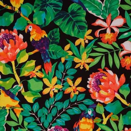 Delightful Tablecloth, Tropical Birds | Linen Effects Wedding, Party, And Event Rental  Décor.