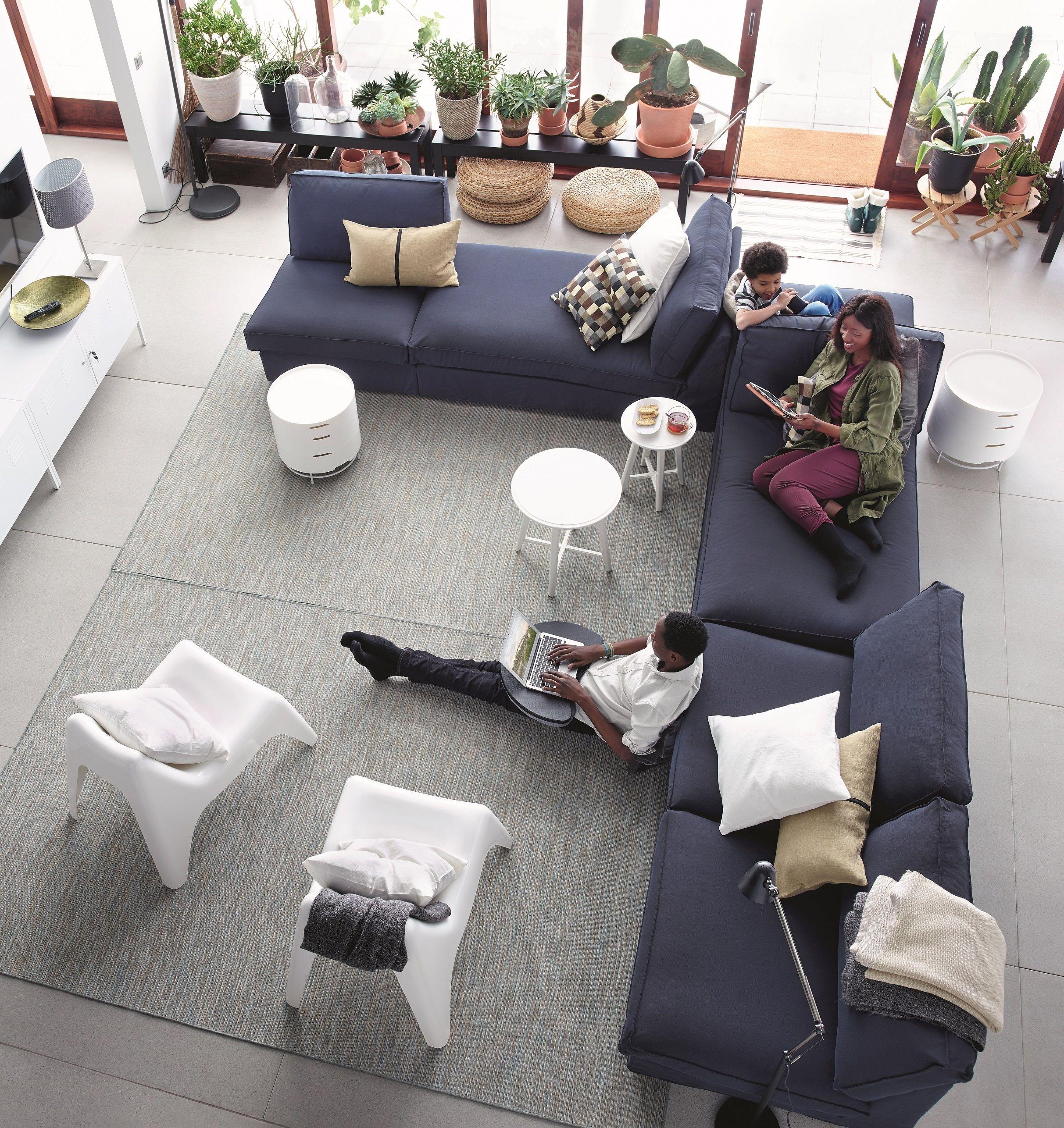 KIVIK zitbank | #IKEA #IKEAnl #bank #woonkamer #sofa #modulair