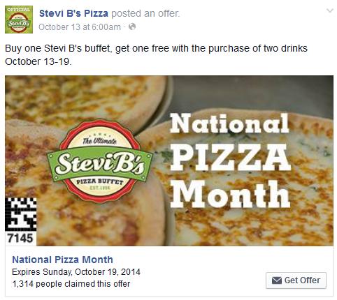 stevi b s facebook coupon for bogo free buffet restaurant rh pinterest com Snappy Tomato Pizza Buffet Coupons Cici's Pizza Coupons April 2012