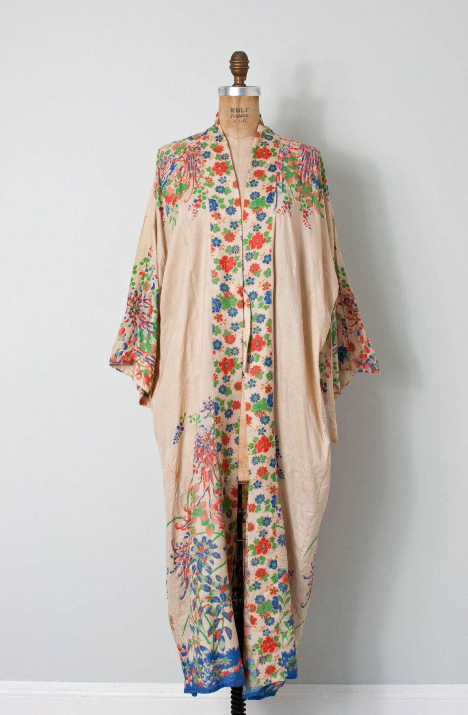 Vintage Silk Robes 38