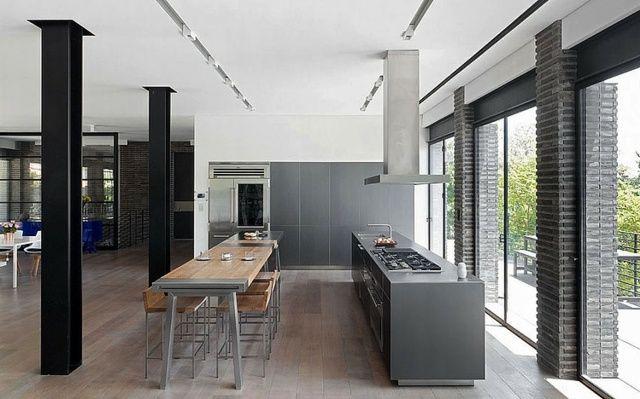 Cuisines design  110 idées pour un aménagement tendance Salons