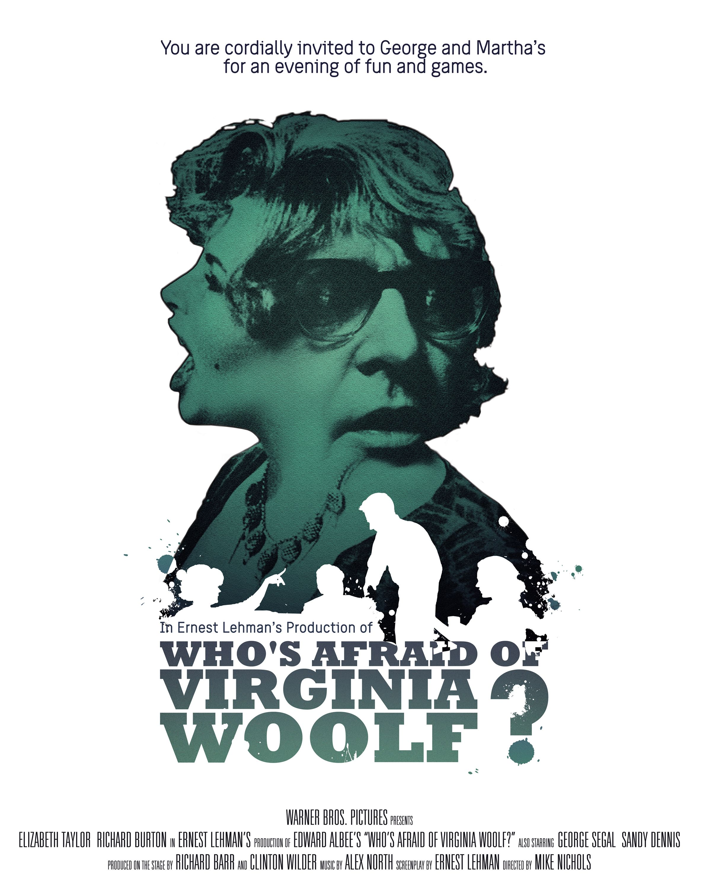 This Is My Design For The Film Who S Afraid Of Virginia Woolf