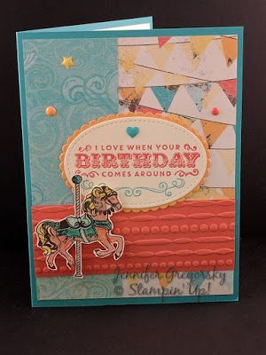 Friday Favorites: 2017 Occasions Catalog Suites, Carousel & Cupcakes, SSI, Jenny G Paper Crafts,