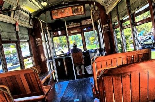 New Orleans streetcar - a great experience.
