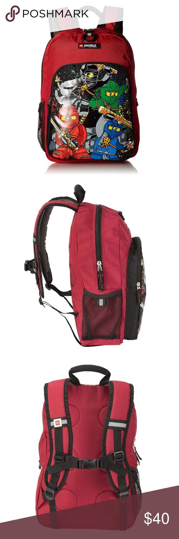 5dde58bf41 LEGO Kids Ninjago Team Heritage Classic Backpack • Ergonomically padded