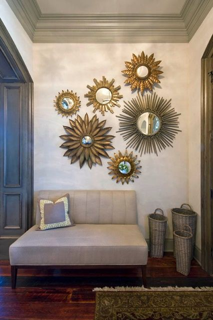 5 Interior Design Trends Of 2016. Hall Wall DecorWall Decor With MirrorsDining  ...