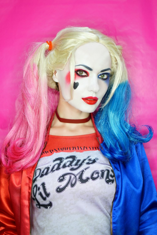 femmes HARLEY QUINN SUICIDE SQUAD déguisement costume halloween