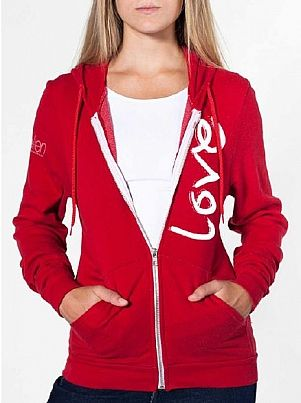 caf0725aa The Ellen DeGeneres Show Shop - Love Terry Cloth Hoodie | Fashion ...