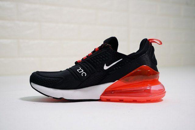 Men's Nike Air Max 270 Flyknit Black Red AH8060 016 Boys