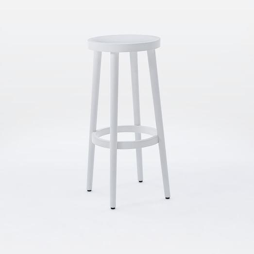 Wondrous Cafe Bar Counter Stool White West Elm Cafe Bar Ibusinesslaw Wood Chair Design Ideas Ibusinesslaworg