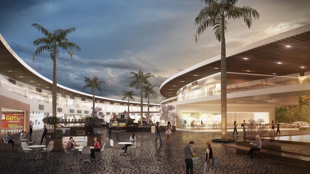 Centro comercial zapata c digozarquitectos arquitectura for Arquitectura de interiores universidades