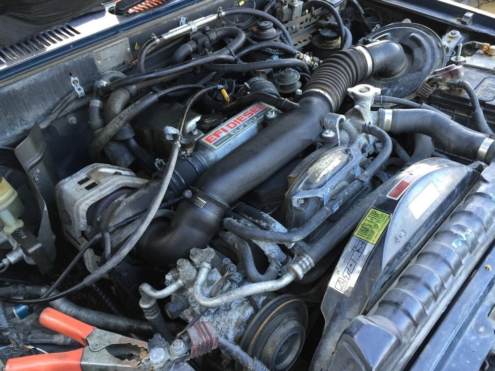 Toyota 2l Diesel Trucks Usa >> Details About Toyota Hilux 2l Te Turbo Diesel Engine 4x4
