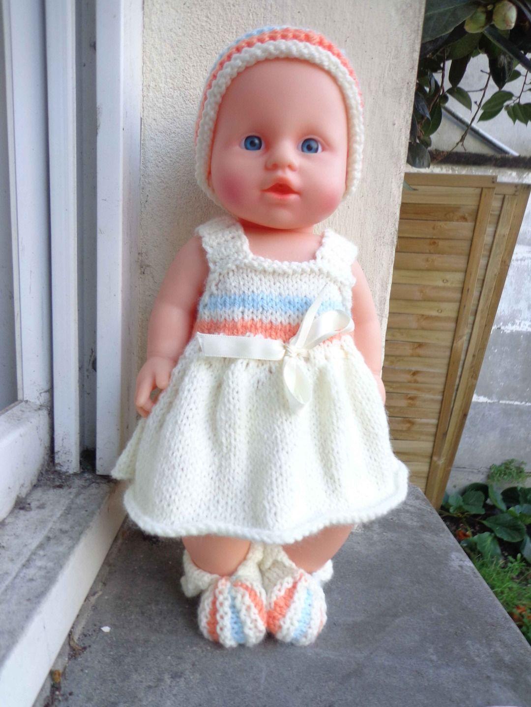 modele tricot poupon 36 cm gratuit   Poppe 6e1dbddff7f6