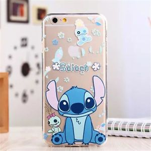 TPU Cover Disney Stitch Silicone Case