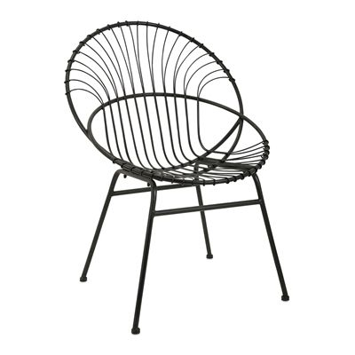 IMAX Worldwide 18339 Reserve Iron Chair | Lowe's Canada
