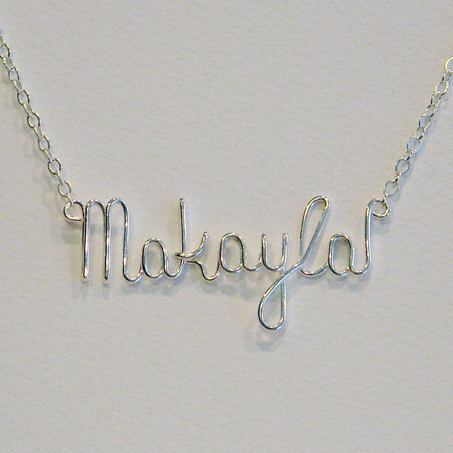 necklace of baby name chains silver products cropped anna london lou