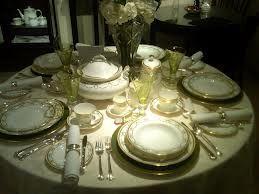 Royal Table Settings For Formal Dinner Google Search Table Settings Titanic Wedding Titanic
