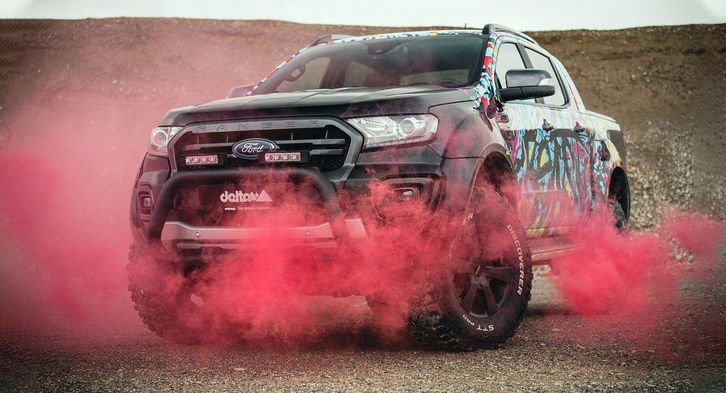 This Euro Tuned Ford Ranger Comes With A Pedestrian Safety Bar In 2020