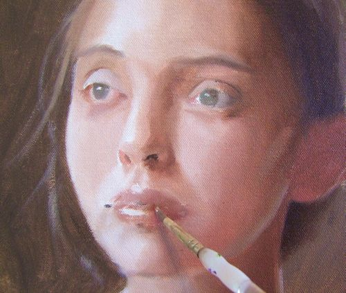 How to paint portraits in natural light in Artists & Illustrators ...