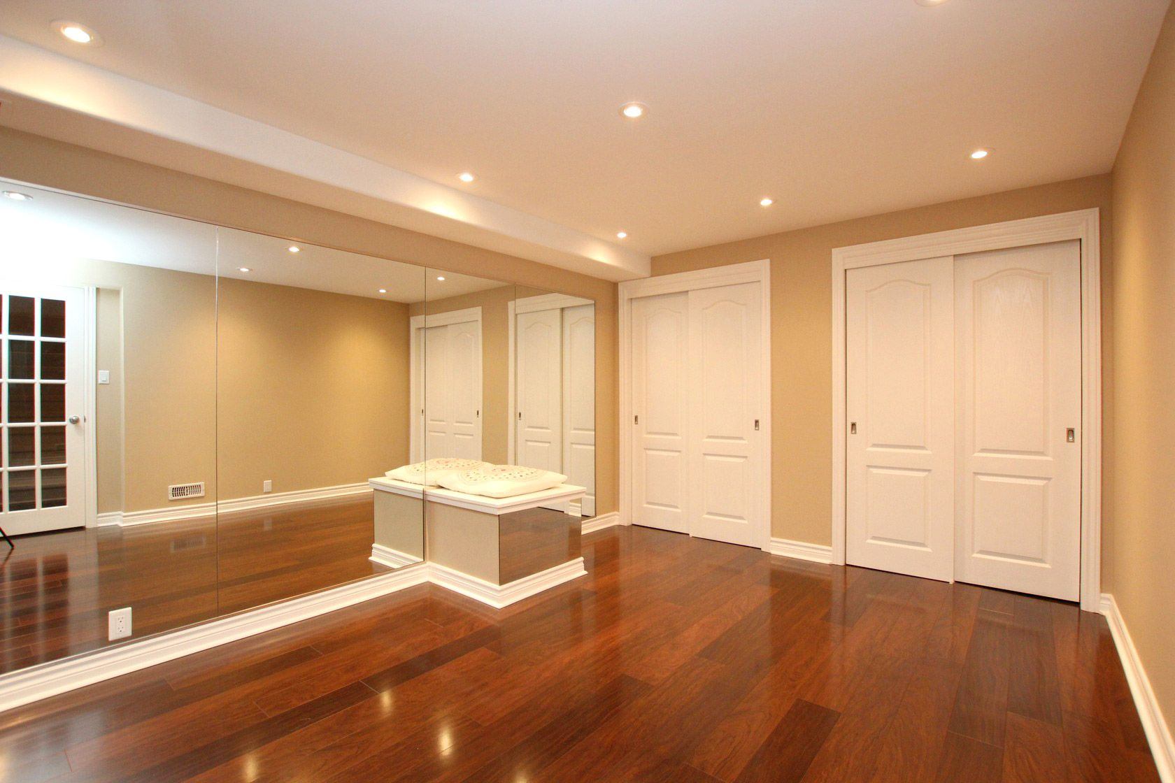 Goal to convert the second of the three bedrooms into a