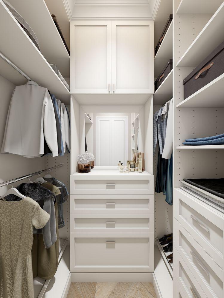 Small Closet | Bedroom closet design, Closet remodel ...