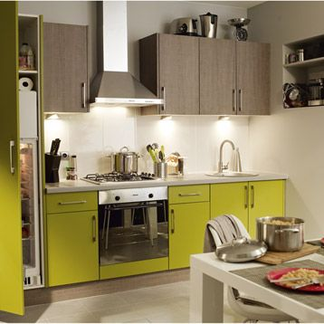 meuble de cuisine delinia composition type topaze bois leroy merlin cuisine pinterest. Black Bedroom Furniture Sets. Home Design Ideas