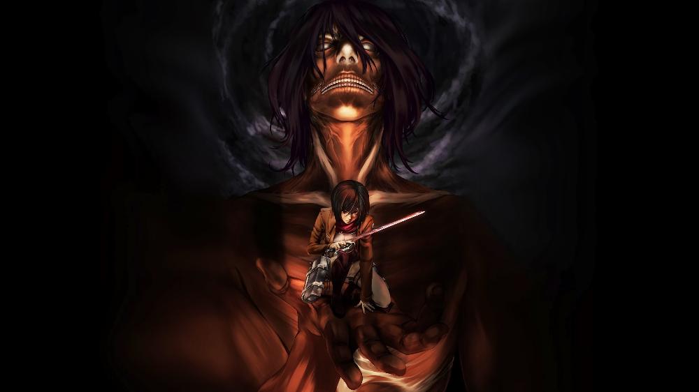 Attaque des titans fond d'écran PC / Wallpaper Attaque des titans / #manga #SNK #ADT #AOT ...