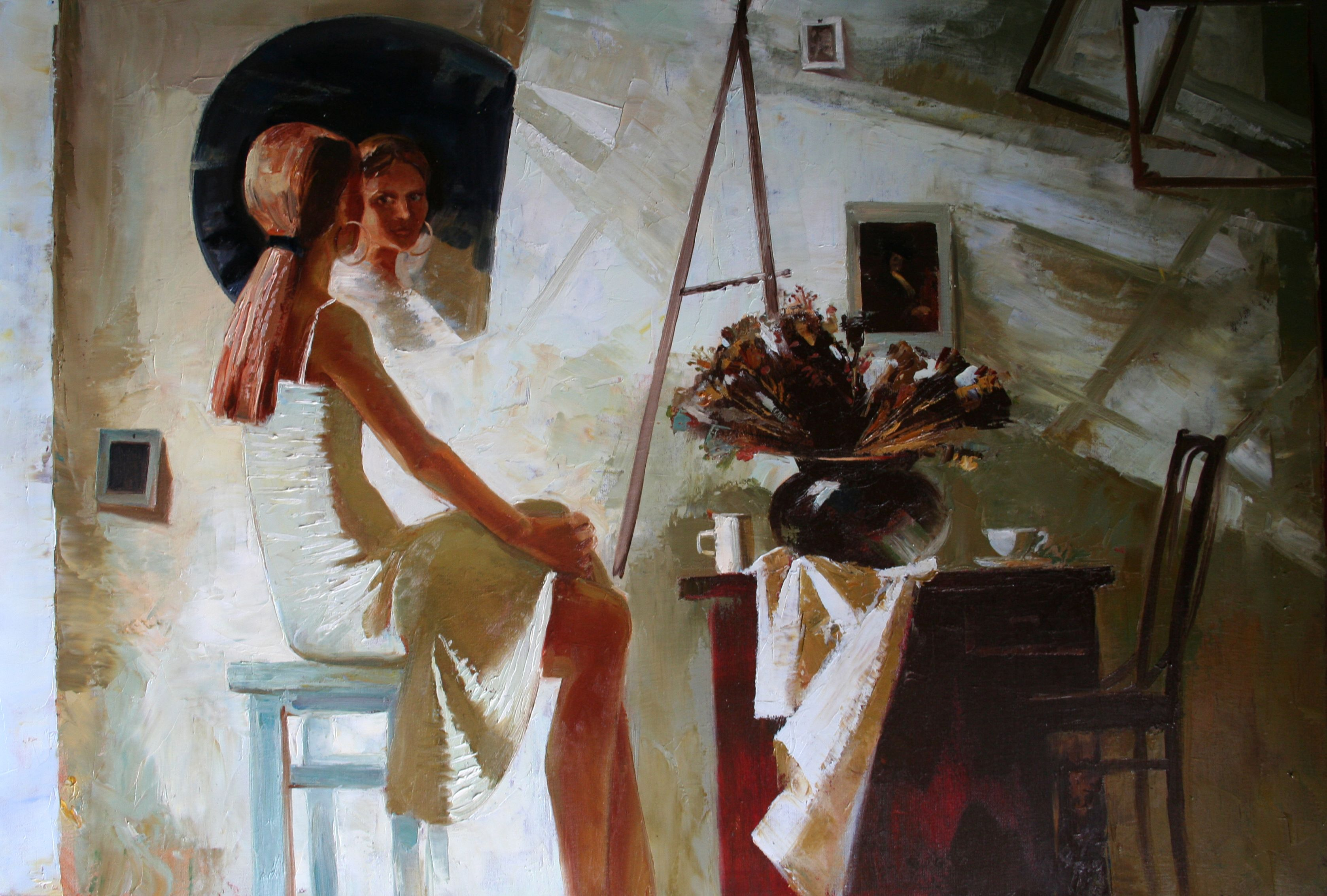 Nadia Molugova Art Academy Classical Art Italy Paintings