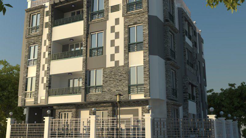 عقار ماب آخر فرصه بأفضل منطقة في الاندلس بالتجمع الخامس شقة 120 م أحياء اخرى Building Multi Story Building Structures