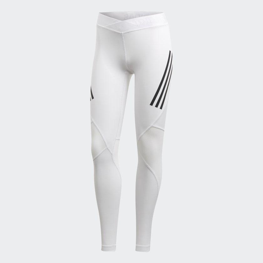 oferta amargo cangrejo  Legging Longa Alphaskin Sport Três Listras - Branco adidas | adidas Brasil  | Leggings, White leggings, Legging