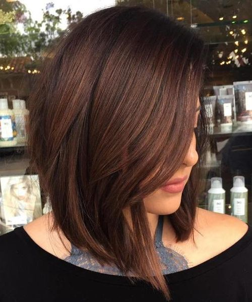Versatile A Line Lob Gy Hairstyles 2018 For Women And